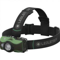 Lanterna cap Led Lenser MH8 Green 600LM