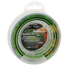 Fir monofilament Prologic Buldozer Mimicry 3D Green 0.70mm/27.8kg/100m