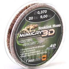 Fir monofilament Prologic Mimicry 3D Mirage XP 0.41mm/11.0kg/40m