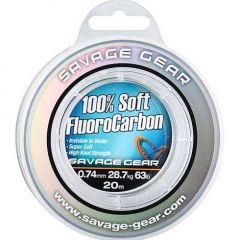 Fir fluorocarbon Savage Gear 100% FluoroCarbon 0.46mm/12.3kg/35m