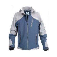 Jacheta Colmic Softshell gri/albastru, marime L