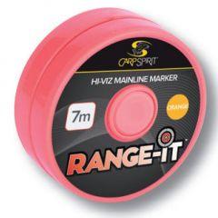 Carp Spirit Range-It Hi-Viz mainline Marker Orange Fluo