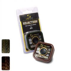 Fir textil Carp Spirit Re-Action Braid 15lb/20m Camo Brown