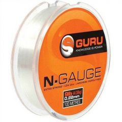 Fir monofilament Guru N-Gauge 0.25mm/9lb/100m