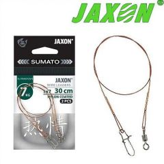 Strune Jaxon Sumato Nylon Coated 1x7 30cm/10kg - 2buc/plic