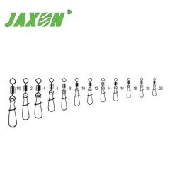 Agrafe + varteje Jaxon Duo Lock Nr.18 - 10buc./plic