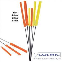 Antene pluta Colmic Bream 4mm, 4,8mm, 6,5mm 6buc/set