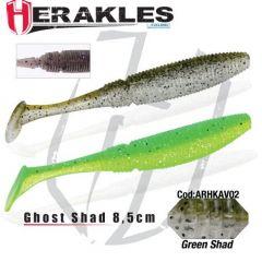 Shad Colmic Herakles Ghost 8.5cm Green Shad