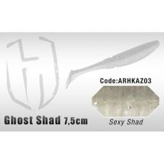 Shad Colmic Herakles Ghost 7.5cm Sexy Shad
