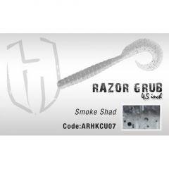 Grub Herakles Razor Grub 11.4cm Smoke Shad