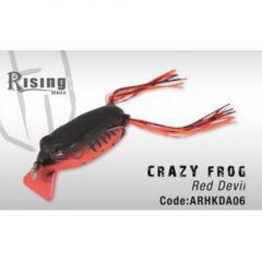 Frog Colmic Herakles Crazy Frog Red Devil 7cm/13gr