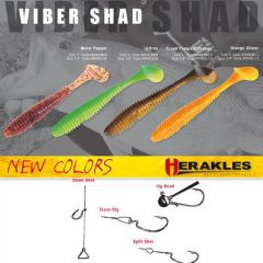 Shad Colmic Herakles Viber Shad 9.7cm Orange Shinner