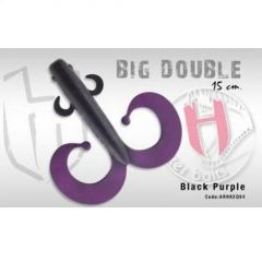 Shad Colmic Herakles Big Double 15cm Black Purple