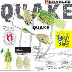Colmic Herakles Spinnerbait Quake 42gr. - Firetiger