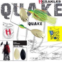 Colmic Herakles Spinnerbait Quake 42gr. - Black/Red