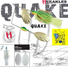 Colmic Herakles Spinnerbait Quake 42gr. - White