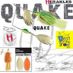 Colmic Herakles Spinnerbait Quake 42gr. - Orange/Brown