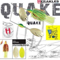 Colmic Herakles Spinnerbait Quake 42gr. - Chartreuse/Orange