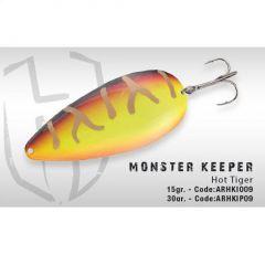 Lingura oscilanta Colmic Herakles Monster Keeper 30g Hot Tiger