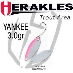 Lingura oscilanta Colmic Herakles Yankee 3g, culoare White Pink