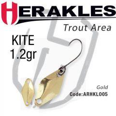 Lingura oscilanta Colmic Herakles Kite 1.2g, culoare Gold