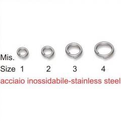 Inele rotunde Stonfo Split Rings 4mm/25kg