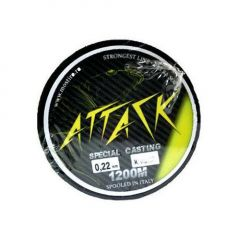Fir monofilament Attack Special Casting 0.28mm/6.9kg/1200m