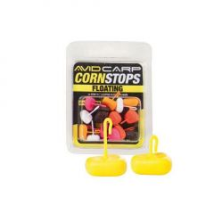 Stopper Avid Carp Corn Stops Floating Long - Yellow