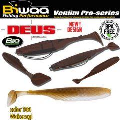 Shad Biwaa Deus 13cm, culoare 106 Wakasagi