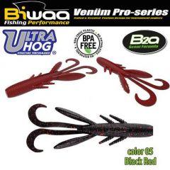 Shad Biwaa Ultra Hog 10m, culoare Black'n'Red