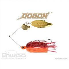 Spinnerbait Biwaa Dogon 14g White Red Tiger-Gold Blades