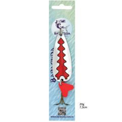 Lingura oscilanta Baracuda B41 20g, culoare CH/R