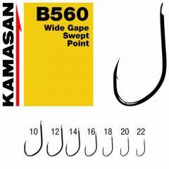 Carlige Kamasan B560 Wide Gape Swept Point nr.12