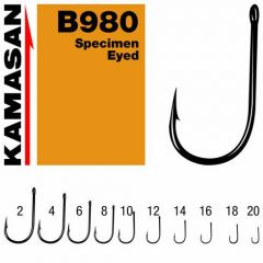 Carlige Kamasan B980 Specimen Eyed nr.12