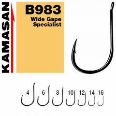 Carlige Kamasan B983 Wide Gape Specialist nr.14