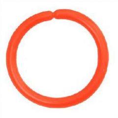 Bambina inel simpla/rosu fluorescent - 5buc/plic