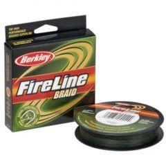 Fir textil Berkley Fireline Verde, 0,28mm/29,4Kg/110m