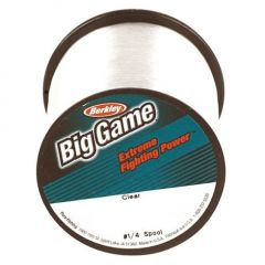 Fir monofilament Berkley Big Game Clear New 0,279mm/6,0Kg/1000m