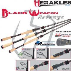 "Lanseta Colmic Herakles Black Weapon Revenge Spin 6'2"" 1/8-5/8 Medium Heavy"