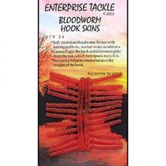 Larve de libelule Enterprise Tackle Artificial Bloodworm Hook Skins