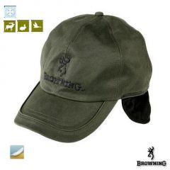 Sapca Browning cu urechi, verde