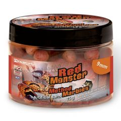 Boilies Radical Method Marbles Red Monster 9mm