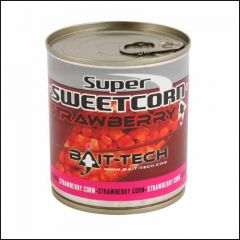 Porumb Bait-Tech Super Sweetcorn Strawberry 300gr
