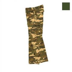 Pantalon Unisport S Verde, marime 48