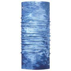 Bandana Buff High UV Coolnet Pelagic Camo Blue