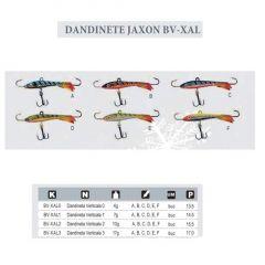 Dandineta Jaxon Verticala Serie BV-XAL1 7.5gr/40mm, culoare F