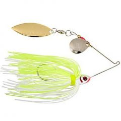 Spinnerbait Booyah Tandem 1/2oz - White Chartreuse