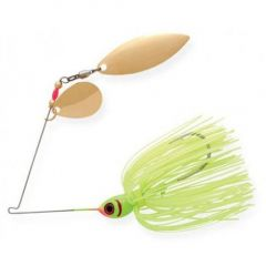Spinnerbait Booyah Tandem 1/2oz - Chartreuse