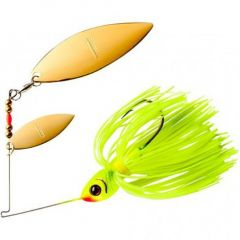 Spinnerbait Booyah Double Willow Blade 3/8oz - Chartreuse