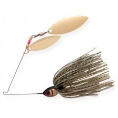 Spinnerbait Booyah Double Willow Blade 3/8oz - Gold Shiner